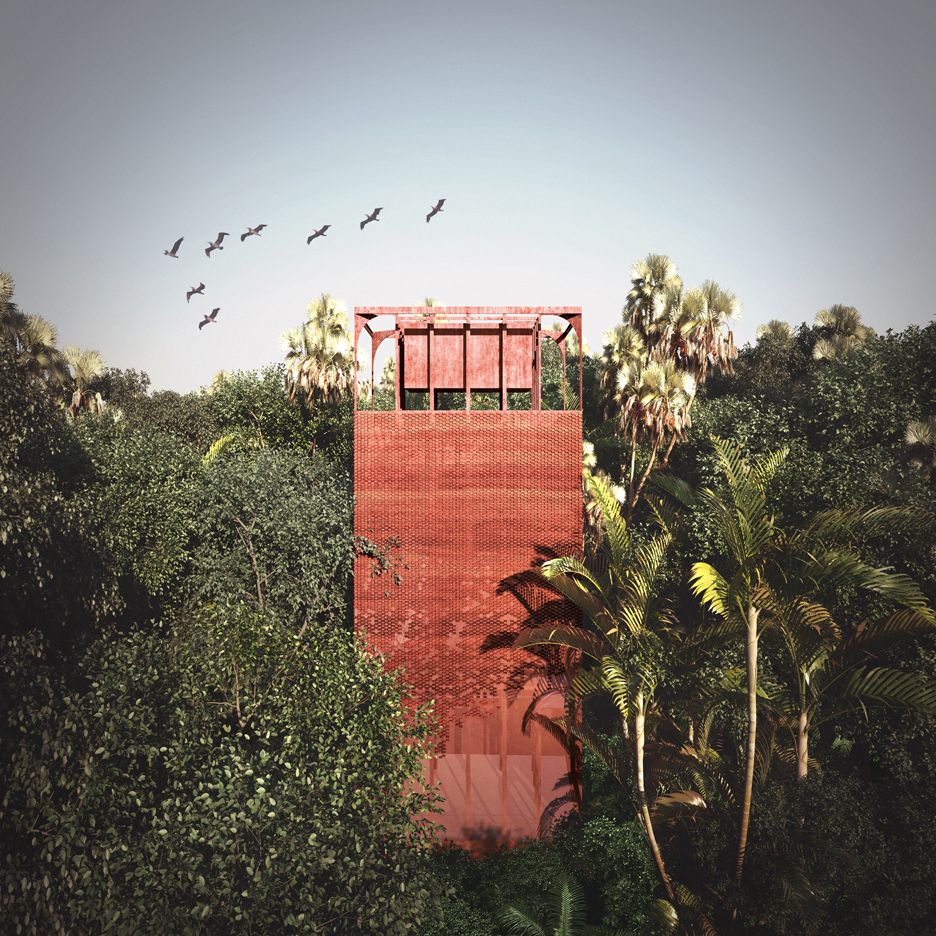 Louise Bjørnskov Schmidt designs rainforest complex to promote eco awareness in Panama