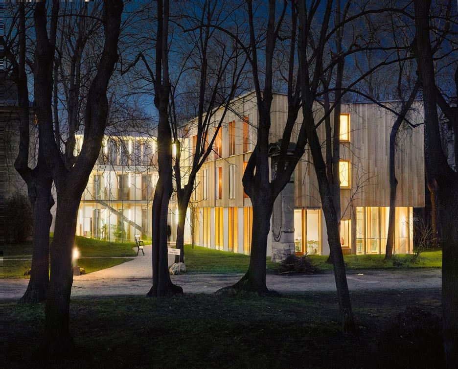 Maison d'Education de la Légion d'Honneur in Paris by Belus & Hénocq Architectes