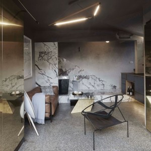 Microlux apartment interior design by Edwards Moore in Melbourne, Australia