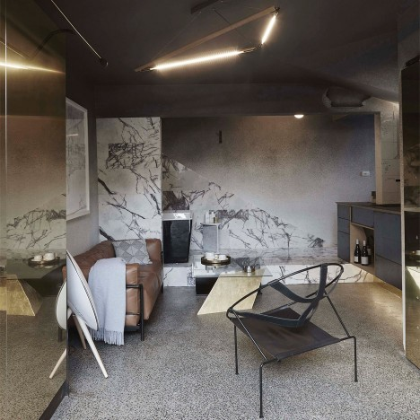 Guests can buy the furniture inside Melbourne flat renovated by Edwards Moore