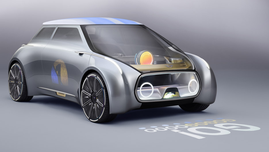 BMW's MINI Vision Next 100 concept car