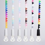Plumen releases pendants with miniature bunting for kids