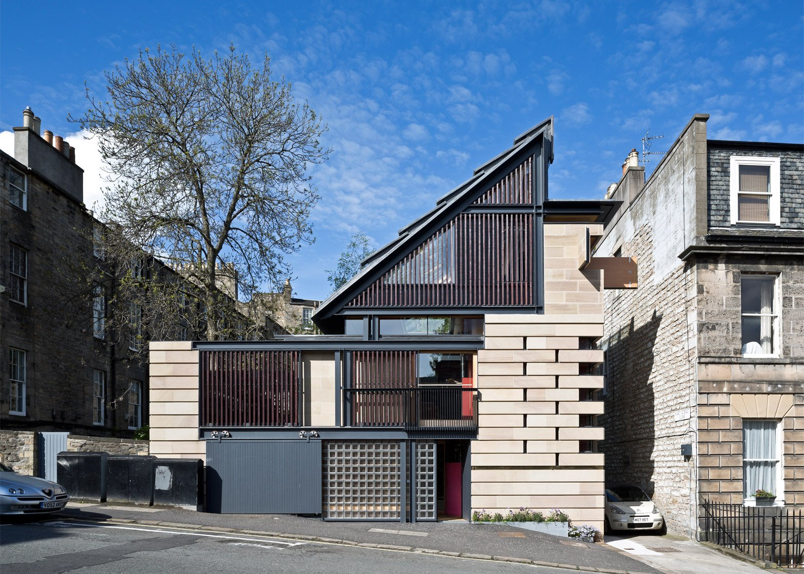 Murphy House; Hart Street, Edinburgh, Scotland, by Richard Murphy Architects