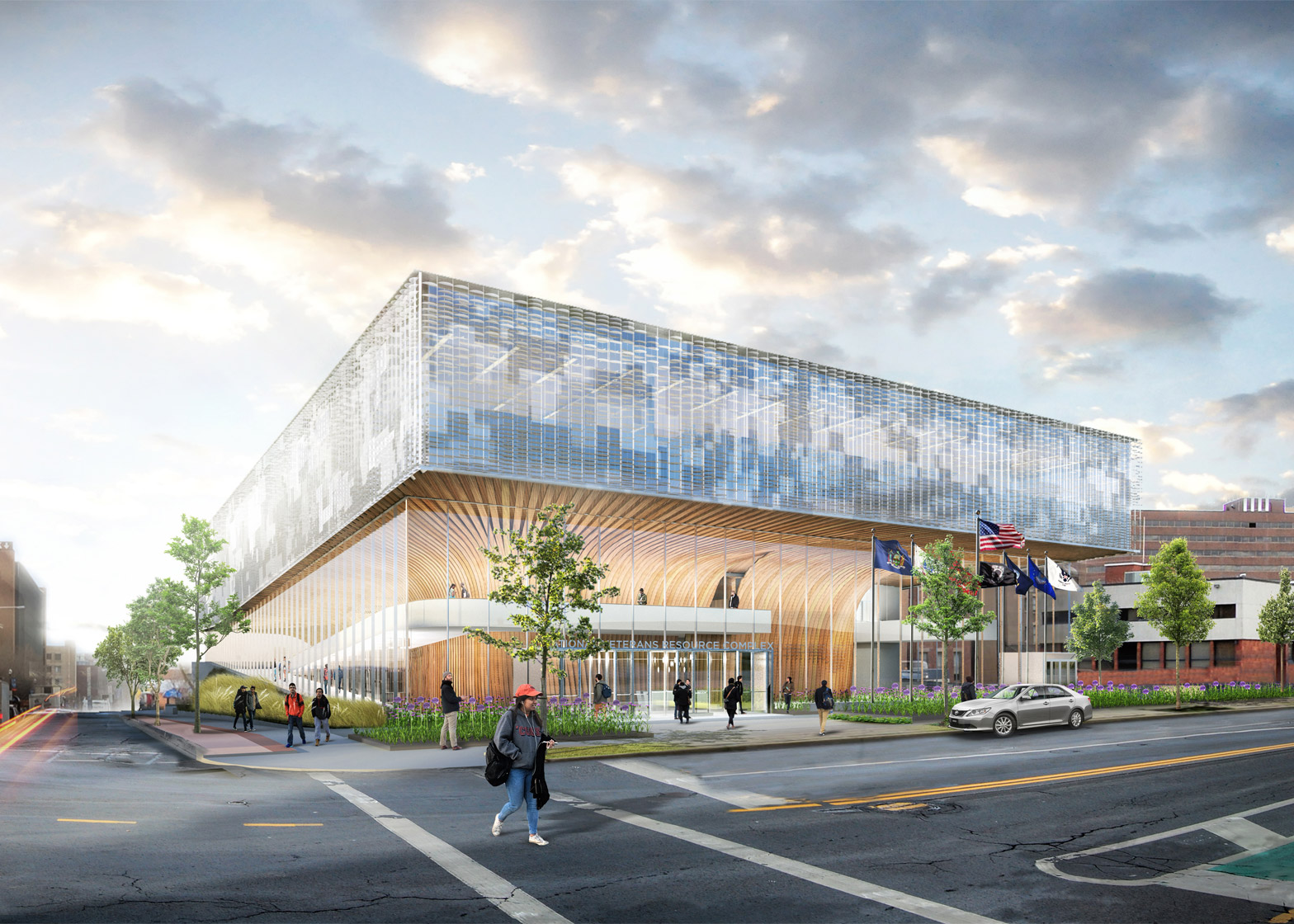 National Veterans Resource Complex by Shop