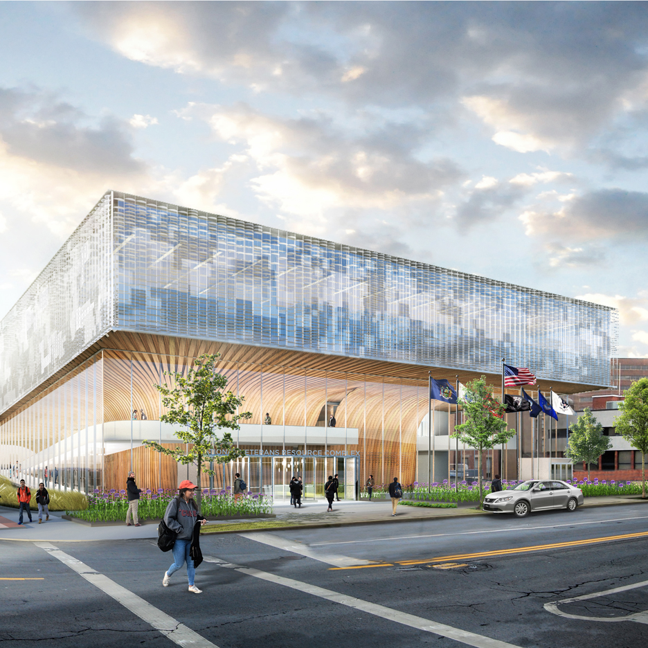 SHoP Architects chosen for National Veterans Resource Complex at Syracuse University