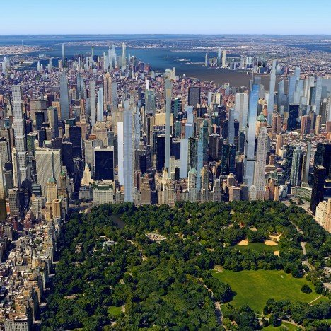New York's 2020 skyline shown in new visualisations
