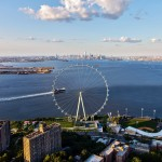 New York Wheel reaches construction milestone as foundations complete
