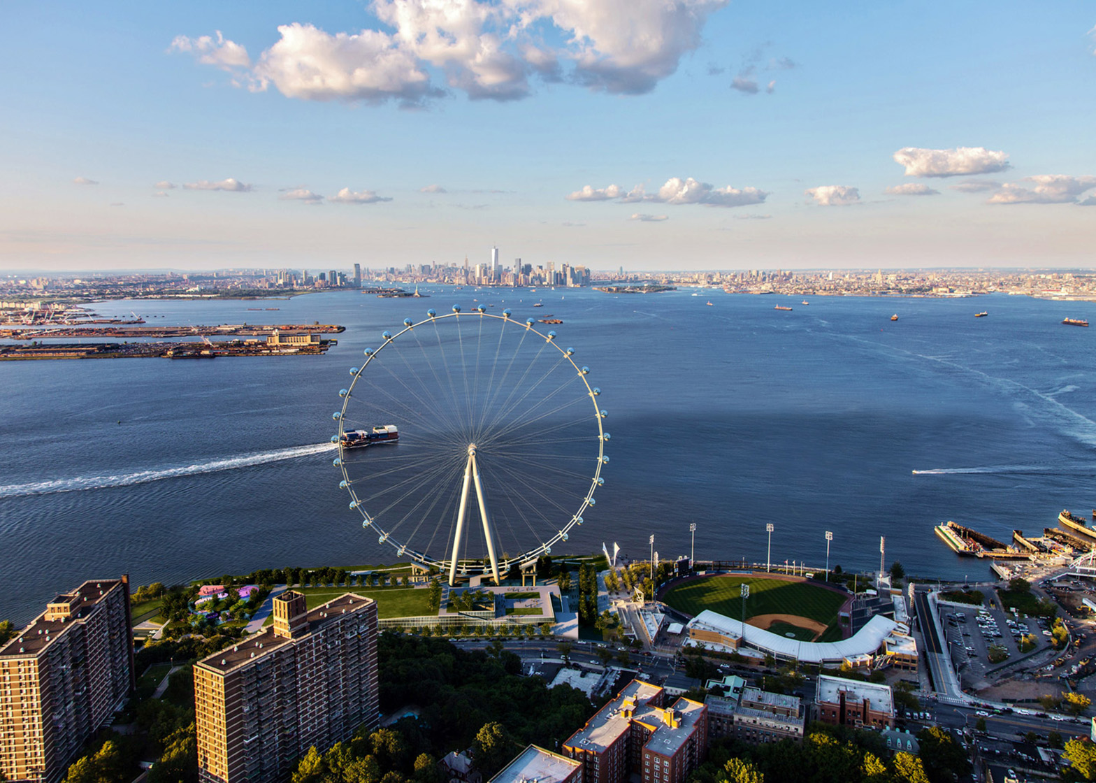 New York Wheel by Perkins Eastman and S9 Architecture