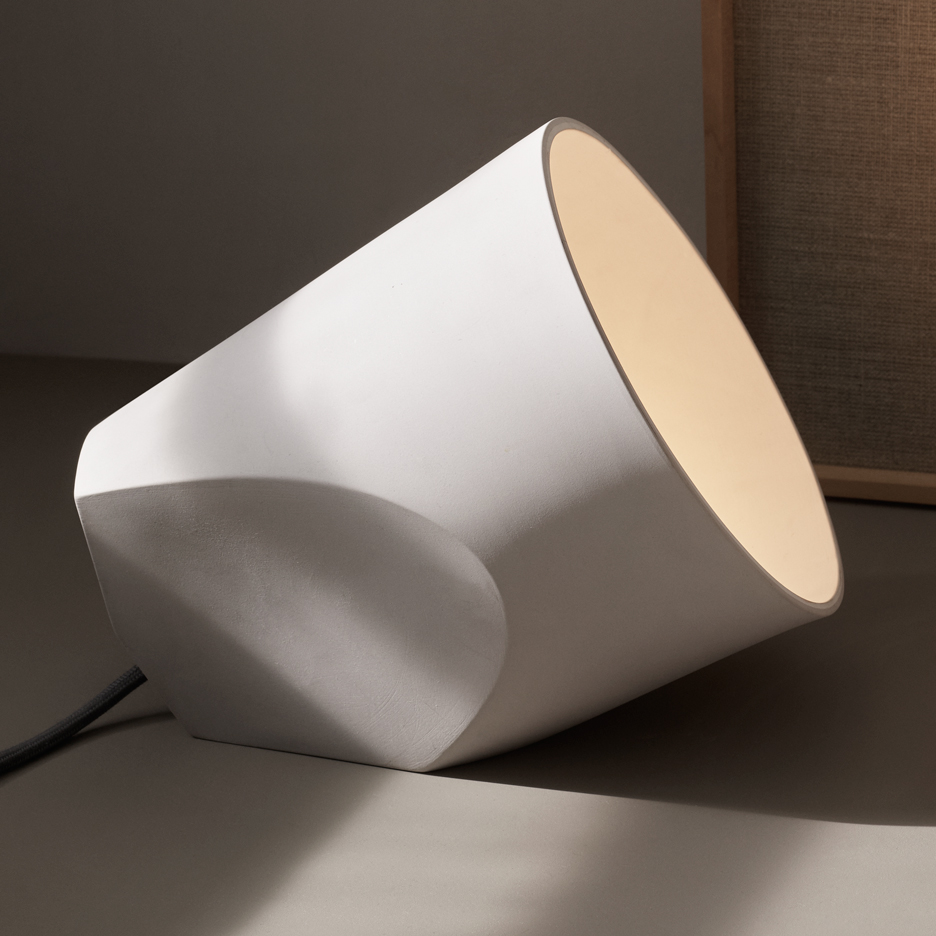On The Edge Lamp by Noidoi. Photograph by Menu A/S