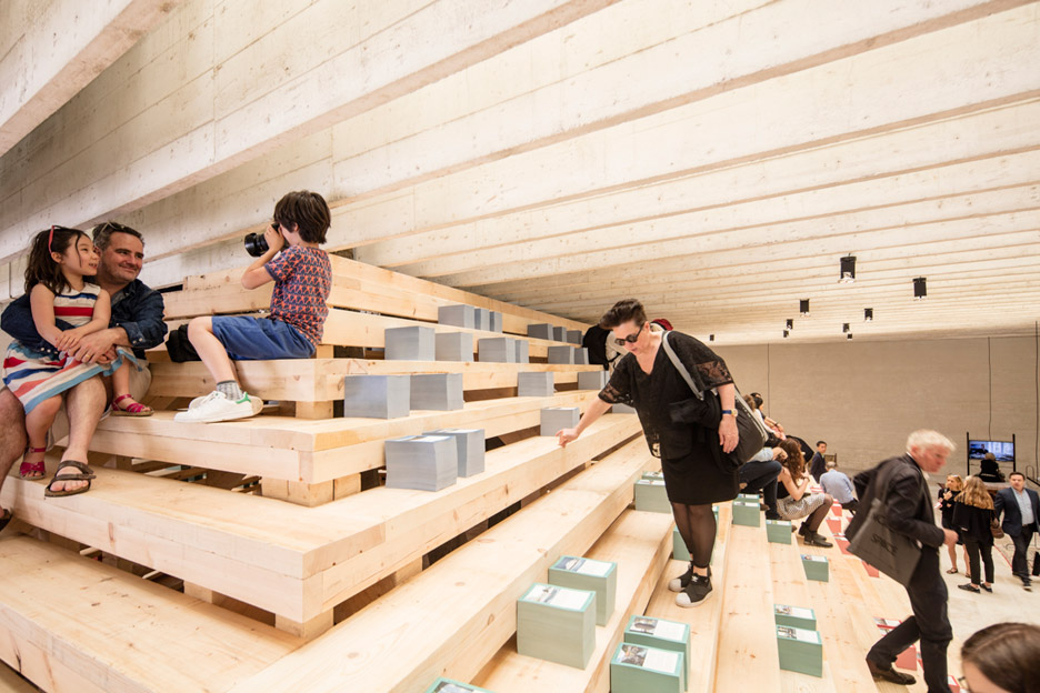 Nordic Pavilion at the 2016 Venice Architecture Biennale addresses the 'unbreakable glass ceiling'
