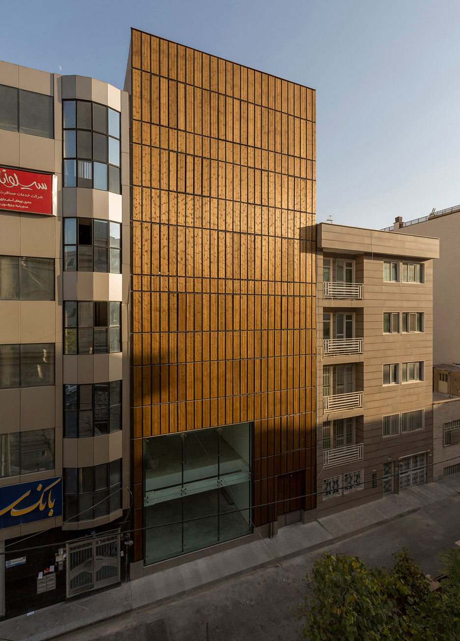 Office block on Tehran, Iran by LP2 architecture studio