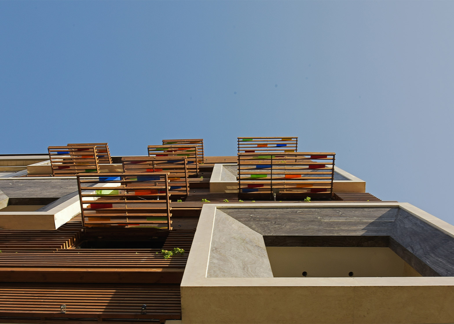 The Orsi Khaneh apartment block, Tehran by Keivani Architects