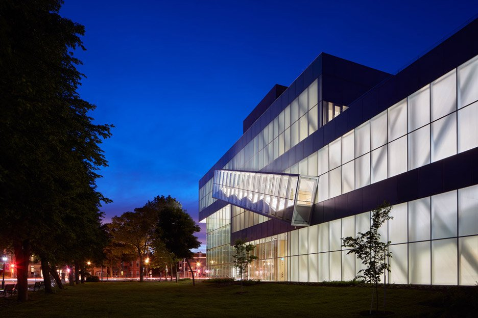 Pierre Lassonde Pavilion in Quebec City designed by OMA
