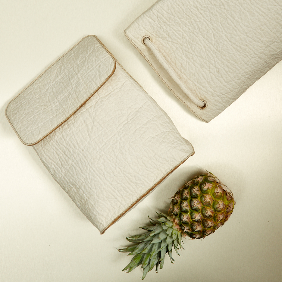 Pinatex pineapple leather
