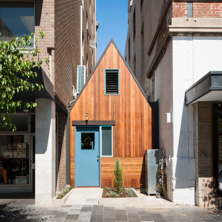Pink Moon Saloon in Adelaide designed by Sans-Arc is a bar squeezed into a bin alley