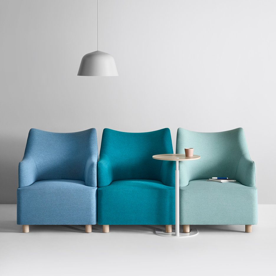 Herman Miller launches Plex modular lounge seating by Industrial Facility