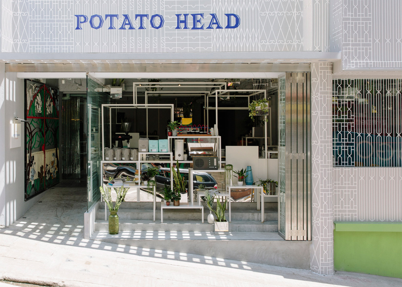 Potato Head Hong Kong interior by Sou Fujimoto for PTT Family