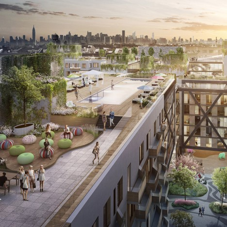 ODA's Rheingold Project housing to take up two full city blocks in Brooklyn