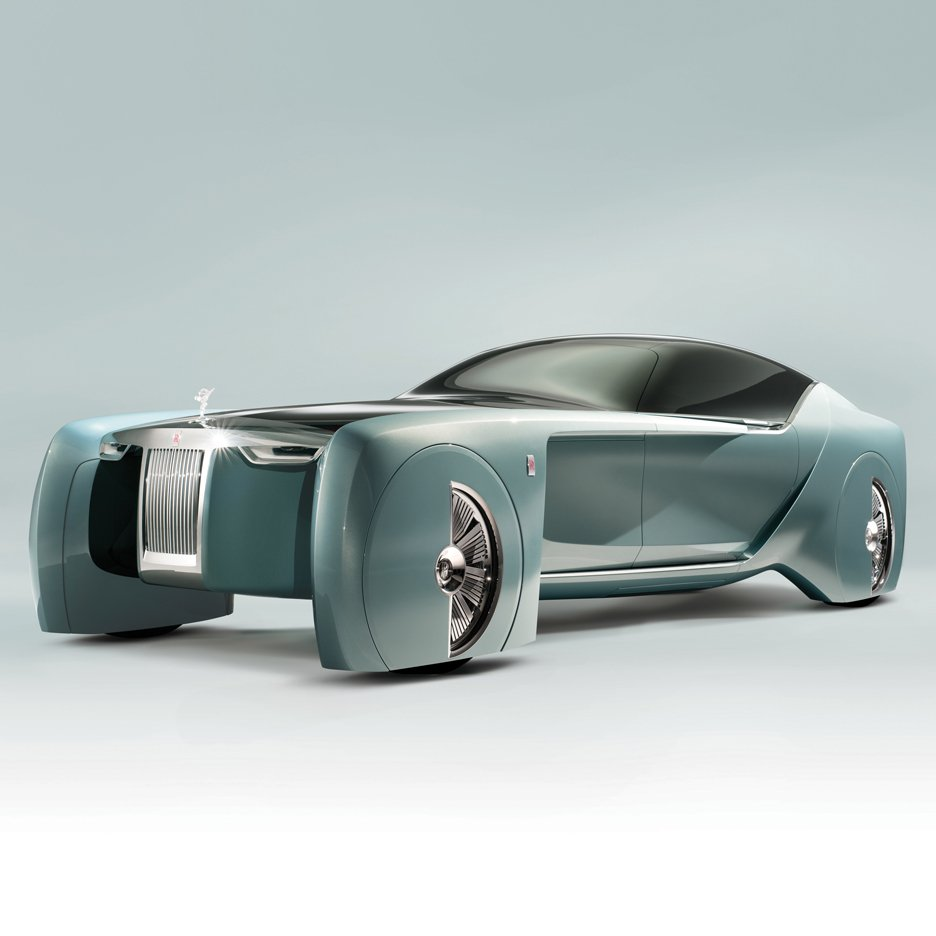Rolls-Royce unveils its first concept car design for future of driverless VIP transport
