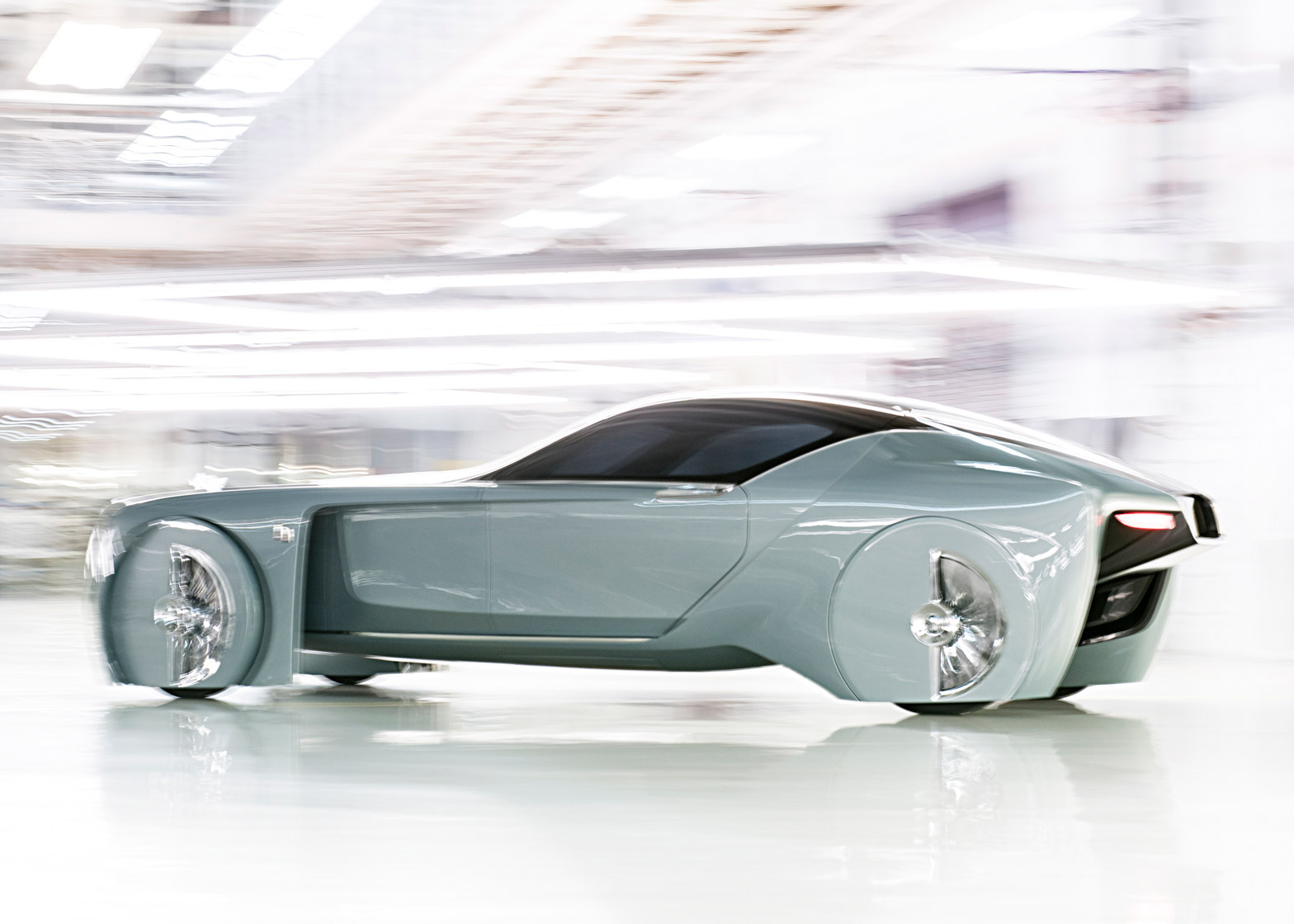 Rolls Royce concept car explores the future of luxury transport