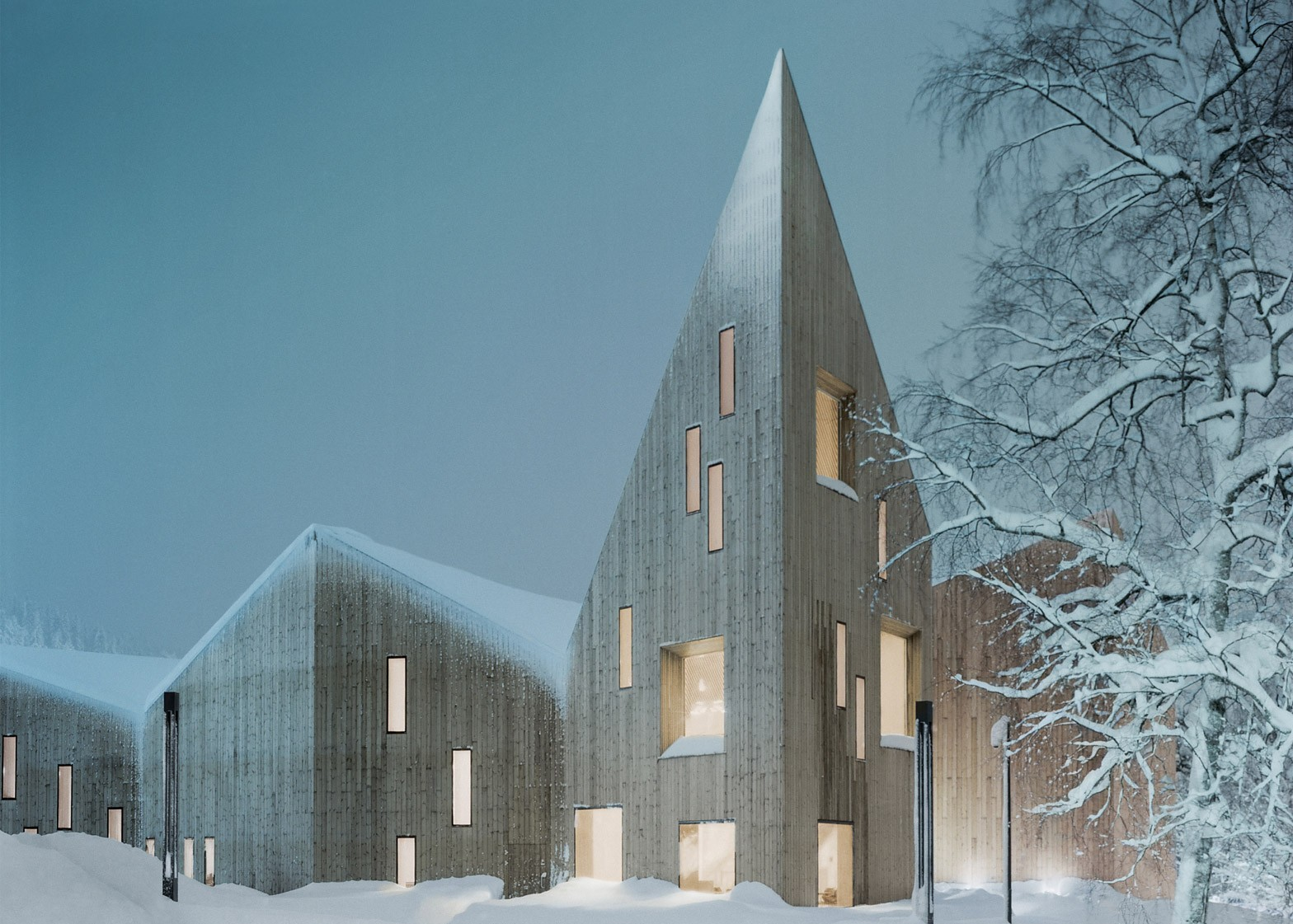 Romsdal Folk Museum, Molde, Norway, by Reiulf Ramstad Architects