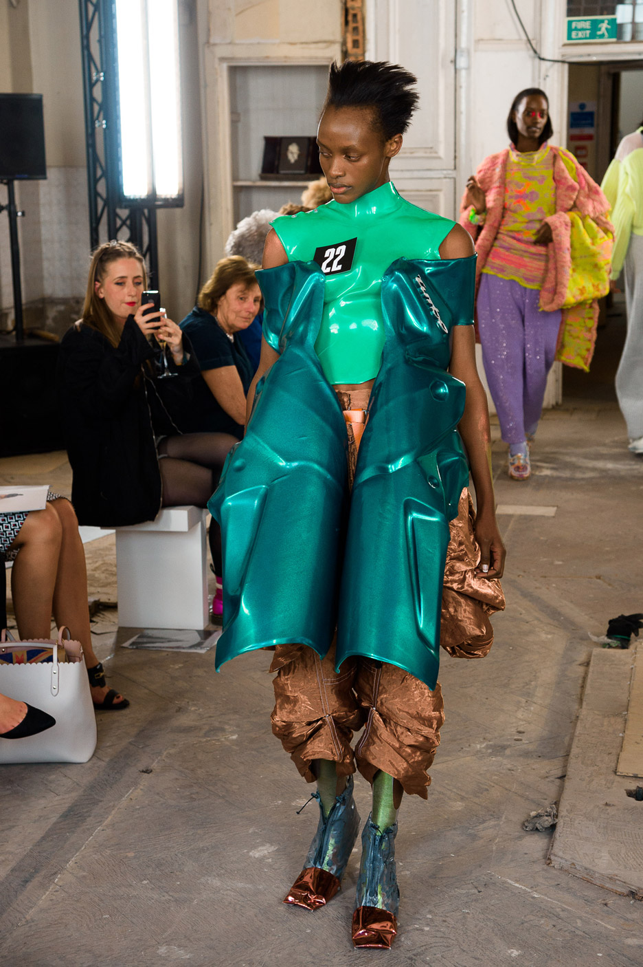 Timothy Bouyez-Forge's RCA graduate fashion collection