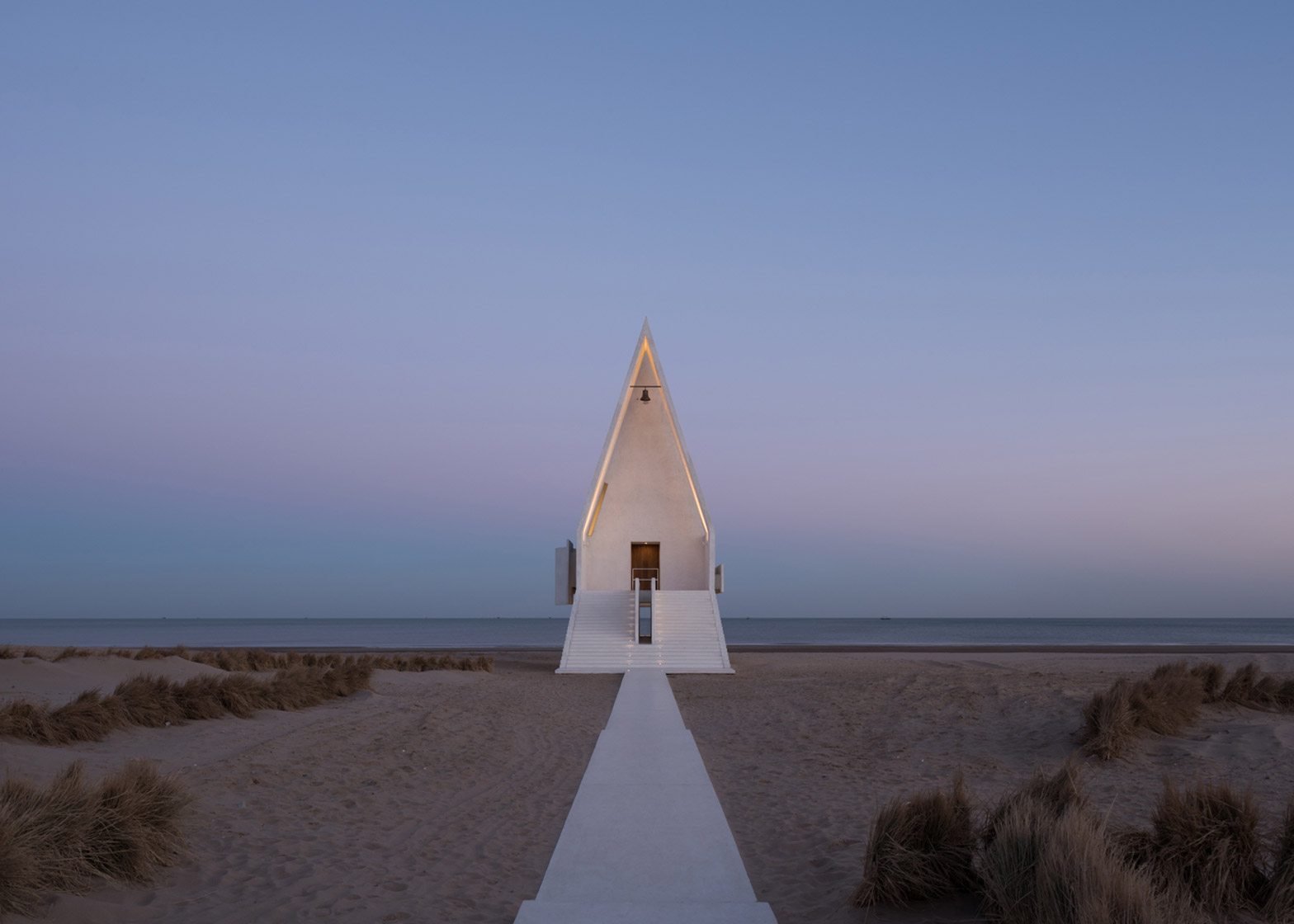 Seashore Chapel by Vector Architects