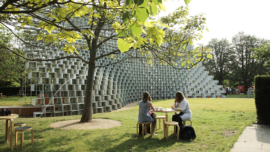 Serpentine Gallery Pavilion 2016 by Bjarke Ingels