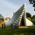 Bjarke Ingels' Serpentine Gallery Pavilion revealed on Instagram
