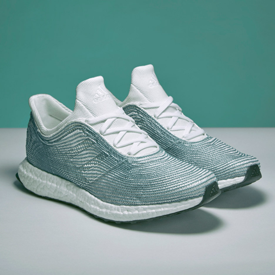 best cheap 55577 7c071 Adidas and Parley for the Ocean design ocean plastic trainers
