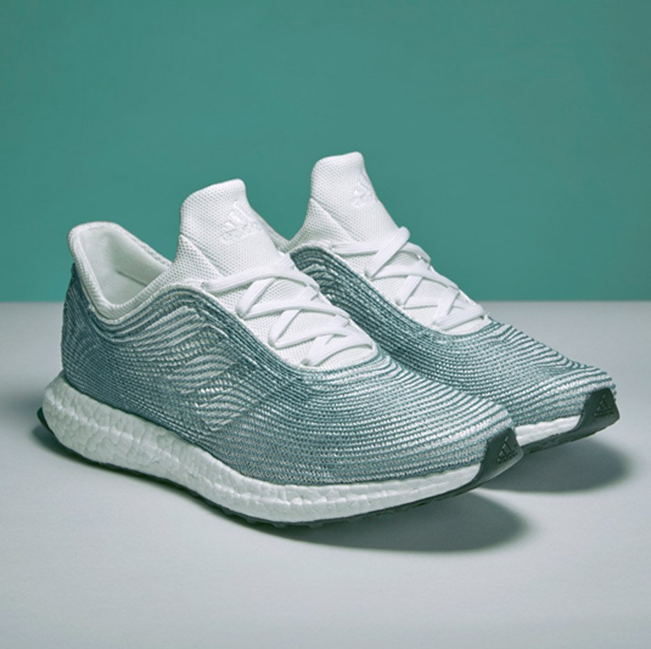 560b92858ce7 Adidas x Parley shoes made from recycled ocean plastic launch