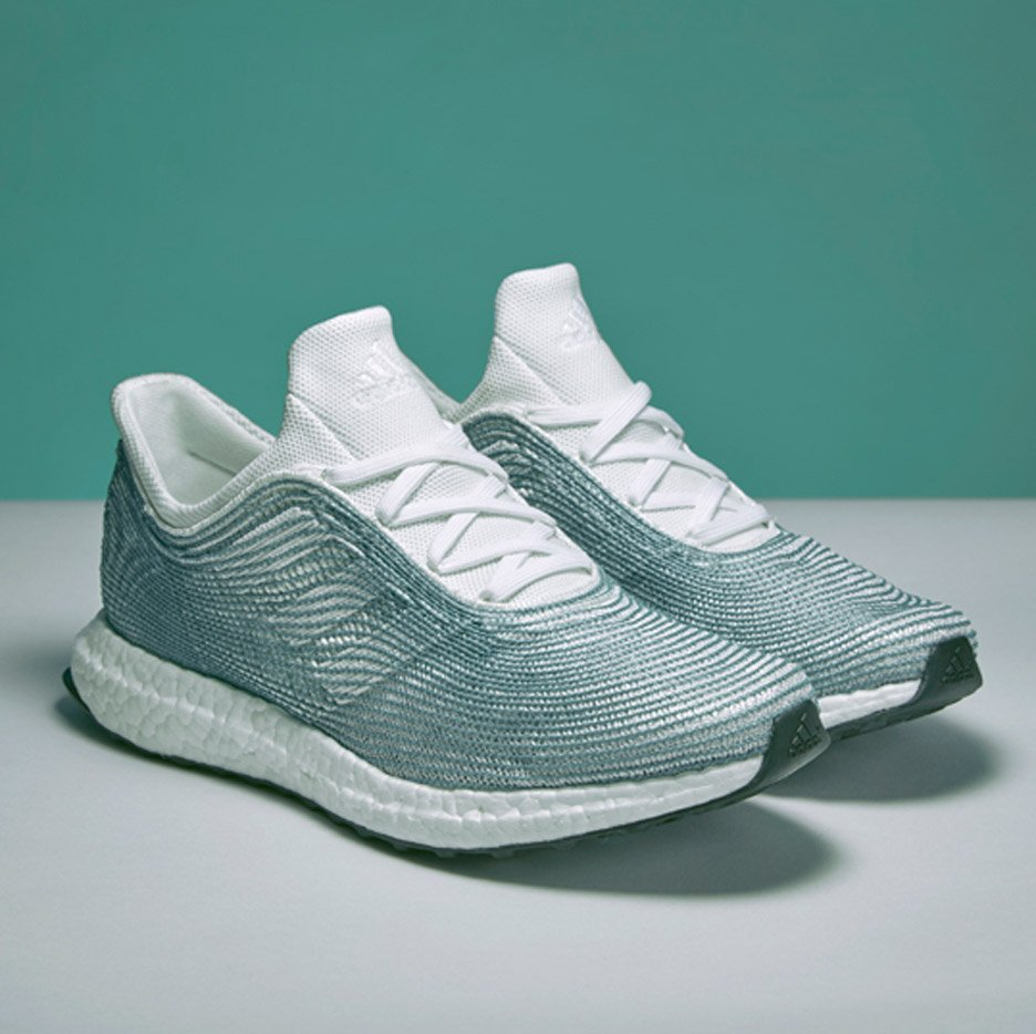 newest e39d6 488ff Adidas x Parley shoes made from recycled ocean plastic launc