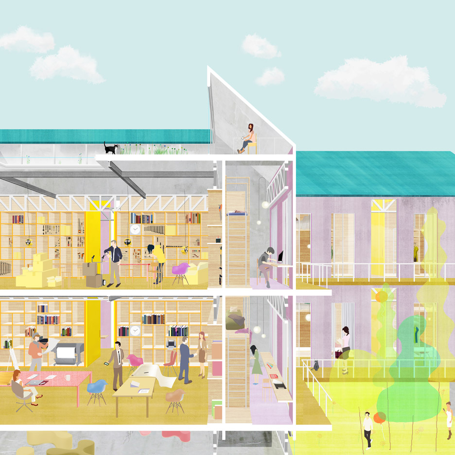 RCA graduate Ohyun Kwon's Short Term Housing for New Labour addresses the housing crisis in Seoul