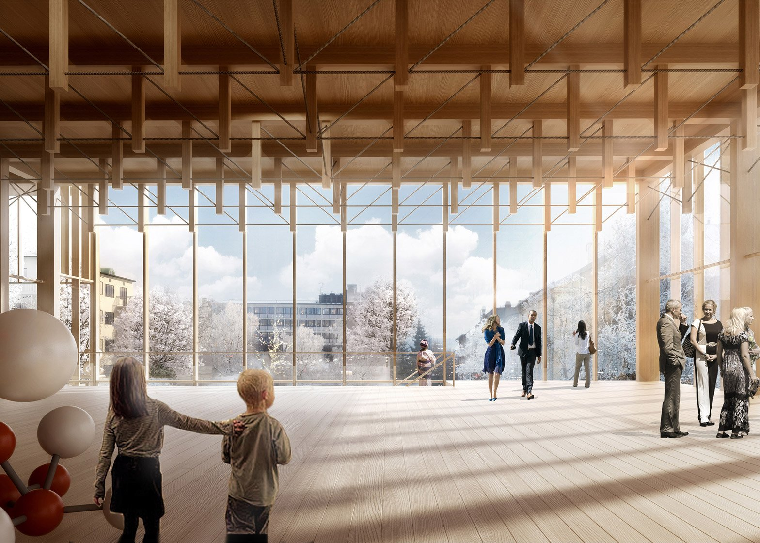 Cultural centre and hotel by White Arkitekter