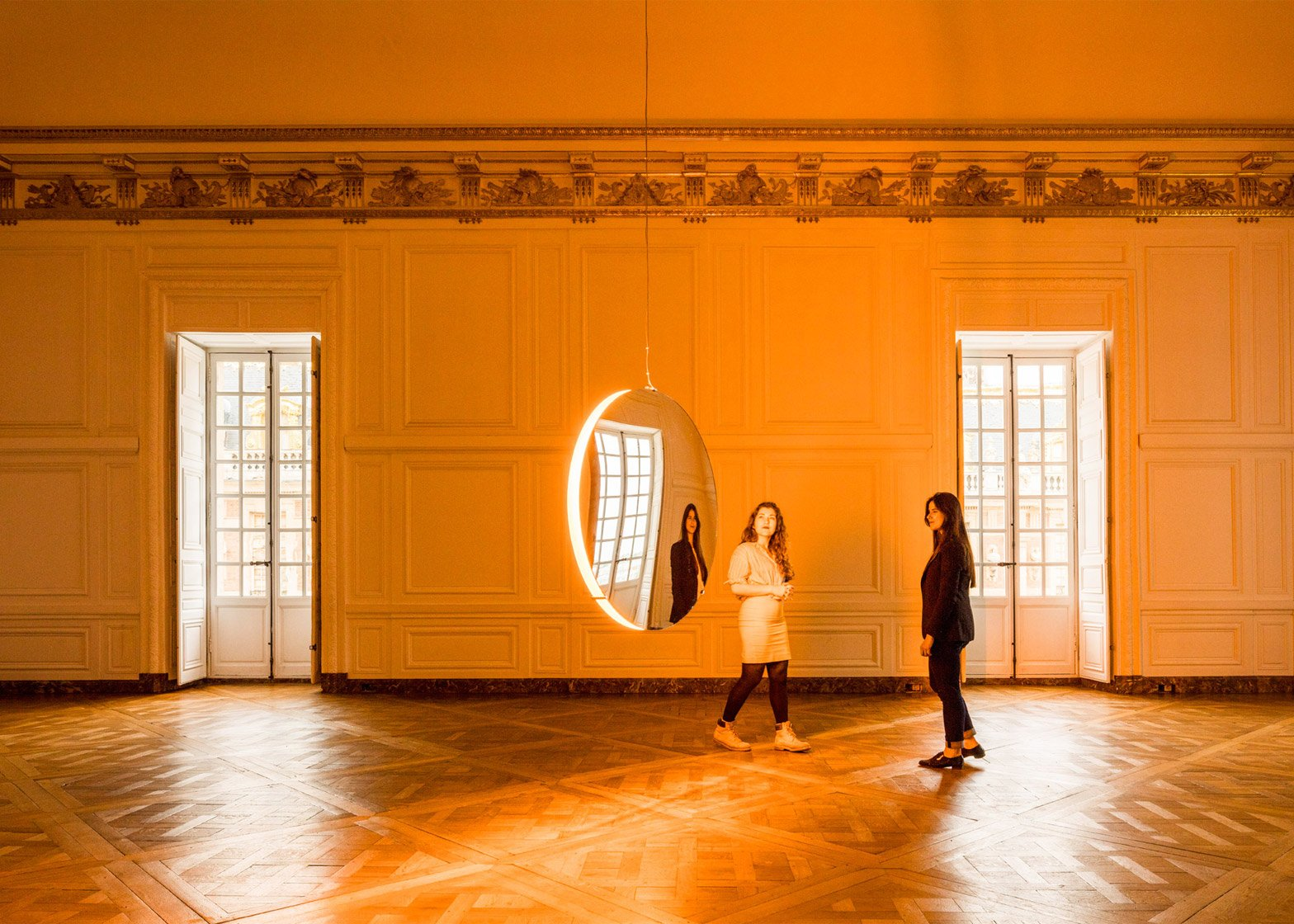 Solar Compression by Olafur Eliasson at the Palace of Versailles, France