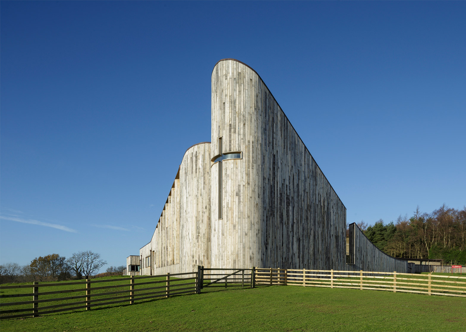 Stanbrook Abbey by Feilden Clegg Bradley Studios. Photograph by Peter Cook