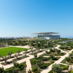 Renzo Piano completes Stavros Niarchos Foundation Cultural Center on a huge artificial hill