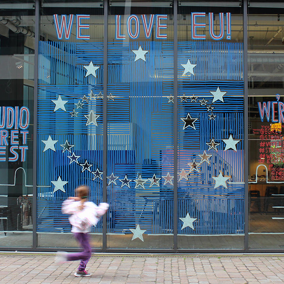Studio Egret supports the remain campaign