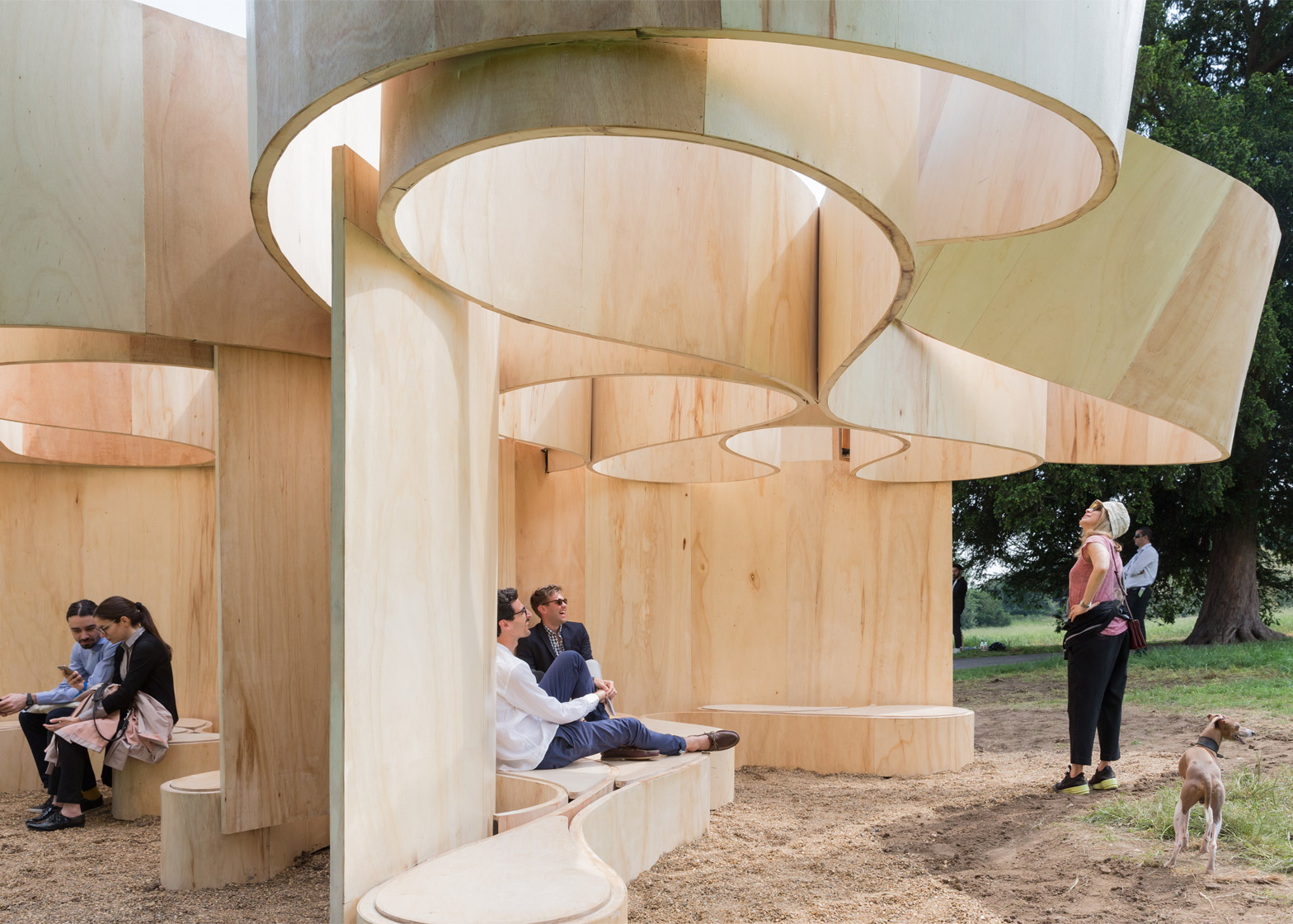Enjoyable Architects Build Summer Houses At The Serpentine Gallery Largest Home Design Picture Inspirations Pitcheantrous