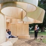 Four temple-inspired Summer Houses built to accompany BIG's Serpentine Gallery Pavilion