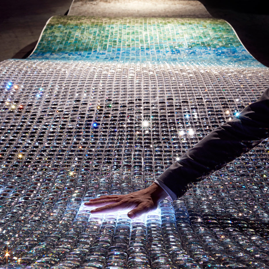 Interactive crystal sculptures feature in Swarovski Designers of the Future Award commissions
