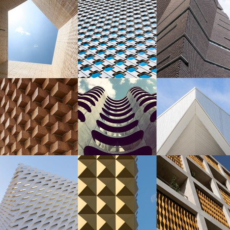 Dezeen teams up with the Tate Modern to create Pinterest board full of architectural details