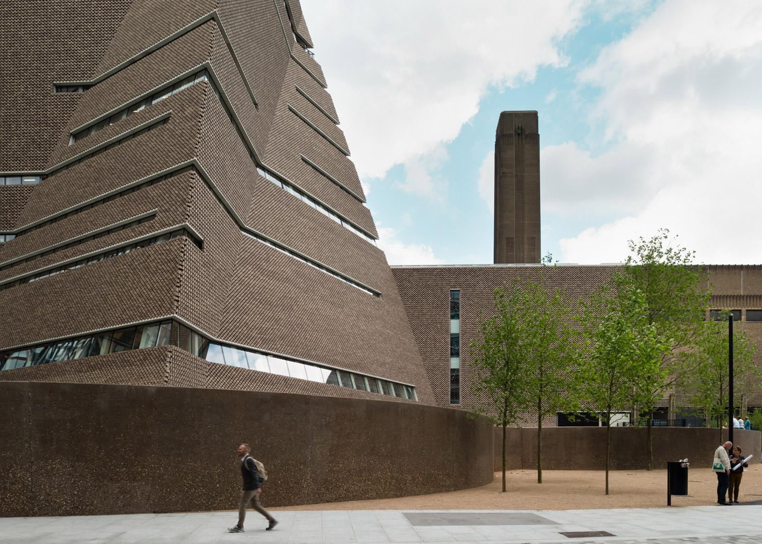 Dezeen Magazine Tate Modern Switch House by