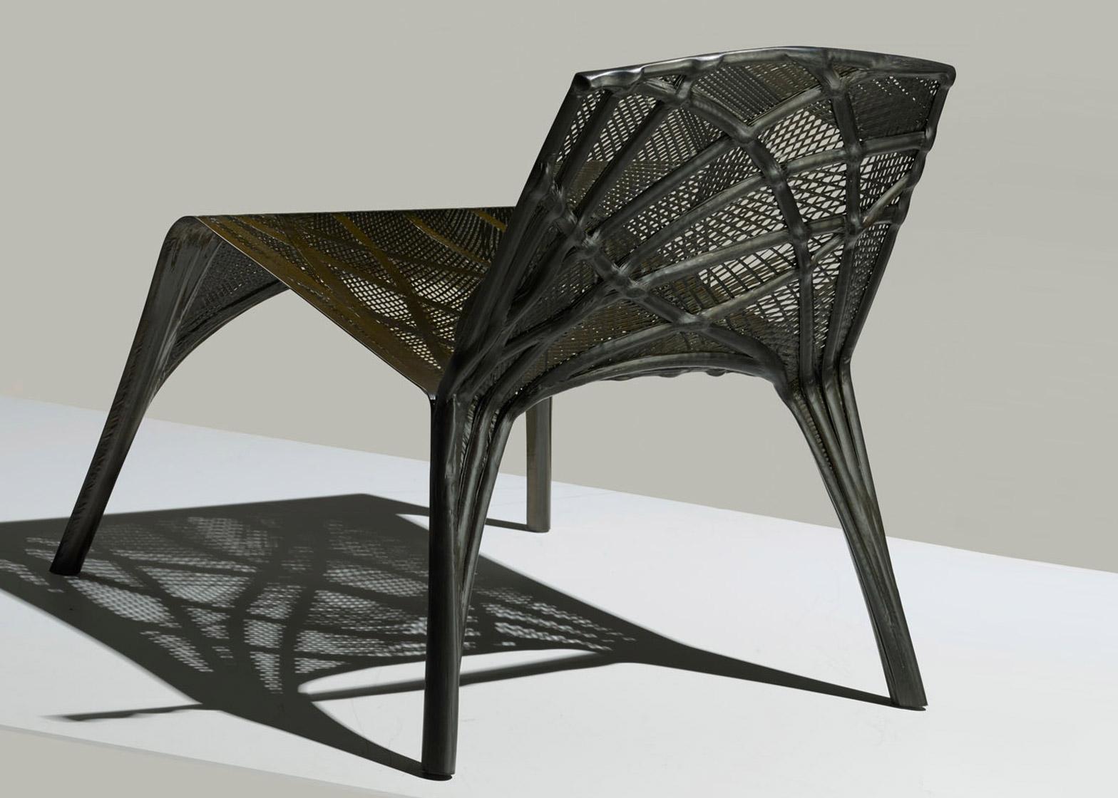 fiber furniture. Marleen Kaptein Uses Aerospace Robots To Craft Carbon-fibre Chair Fiber Furniture I