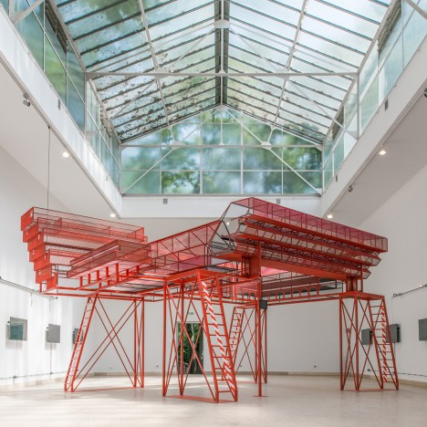 Czech and Slovak Pavilion explores whether Soviet-era architecture is worth saving