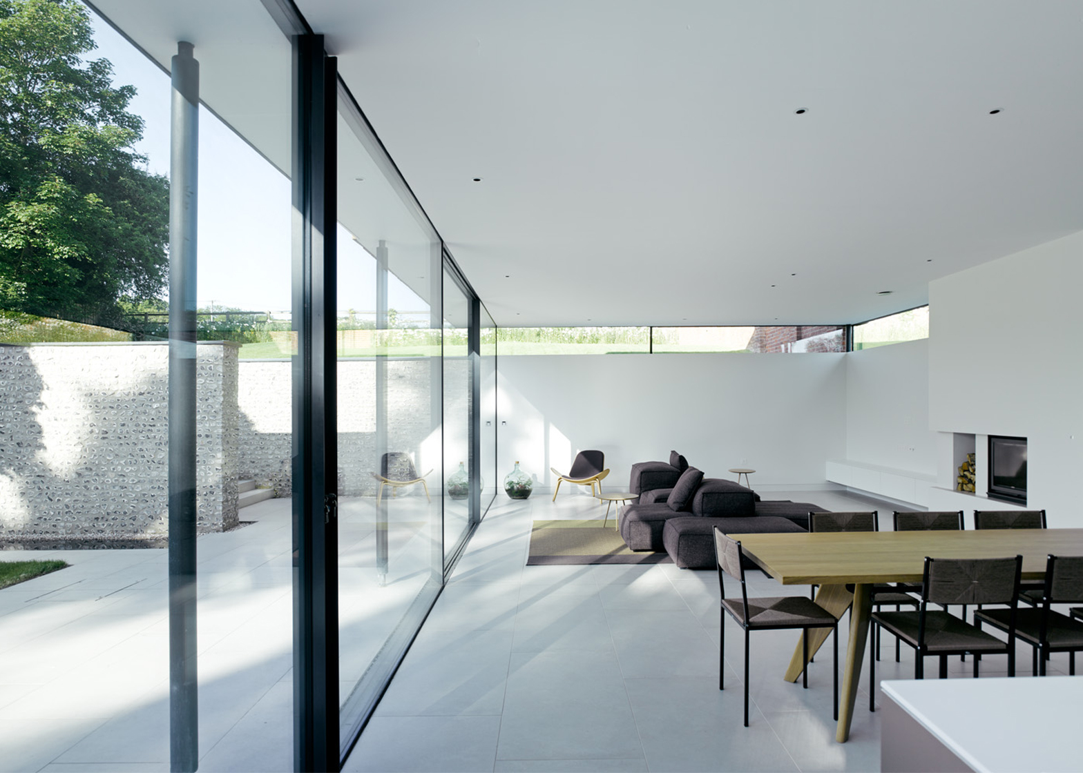 The Cheeran House; Reading, Berkshire, England, by John Pardey Architects