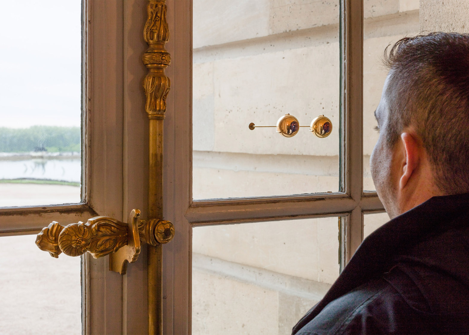 The Gaze of Versailles by Olafur Eliasson at the Palace of Versailles, France