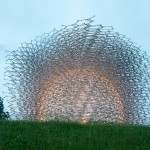 Wolfgang Buttress' beehive-inspired Expo pavilion relocates to Kew Gardens
