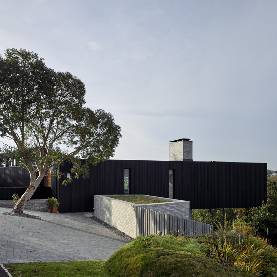 The Owers House; Feock, Cornwall, England, by John Pardey Architects. Photograph by James Morris
