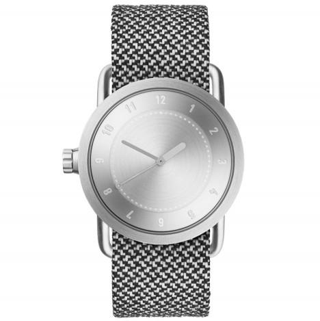 TID updates No.1 watch with steel case and wristband made from recycled materials